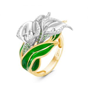 f2b1a33a8777 Кольца из золота, серебра, платины и палладия с бриллиантами